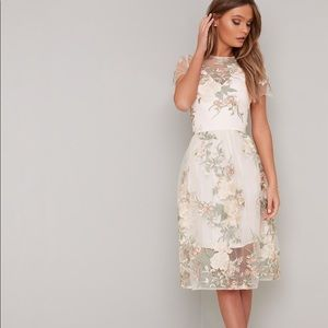 ASOS Chi Chi London NWT Bryanna Embroidered Dress